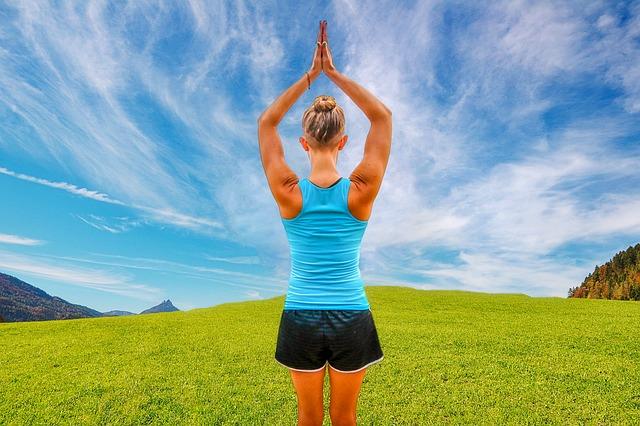 joga v přírodě