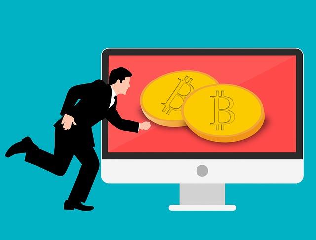 běh za bitcoiny