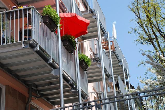 nerezové balkony