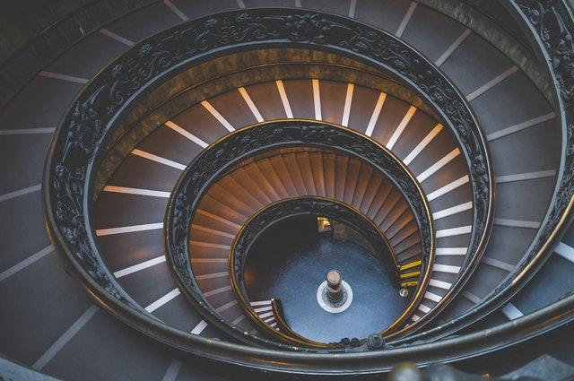 točené schody